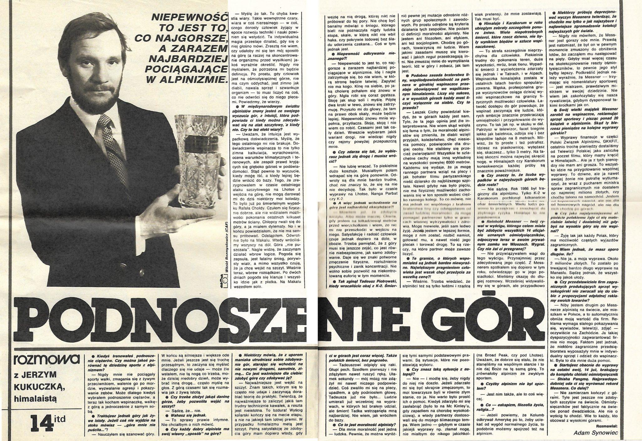 Jerzy Kukuczka ITD