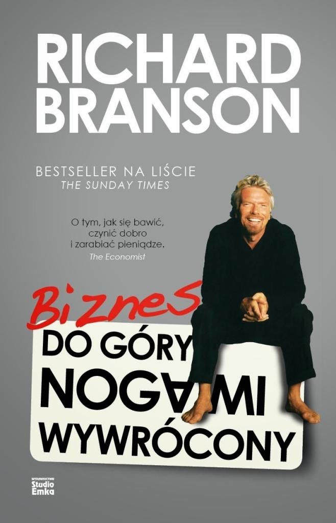 Richard Branson Biznes do góry nogami wywrócony