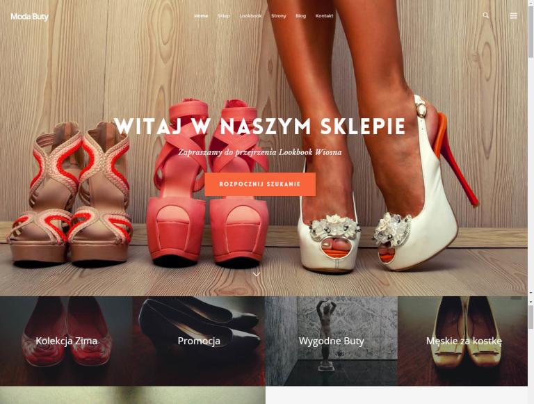 sklep internetowy sprzedający buty