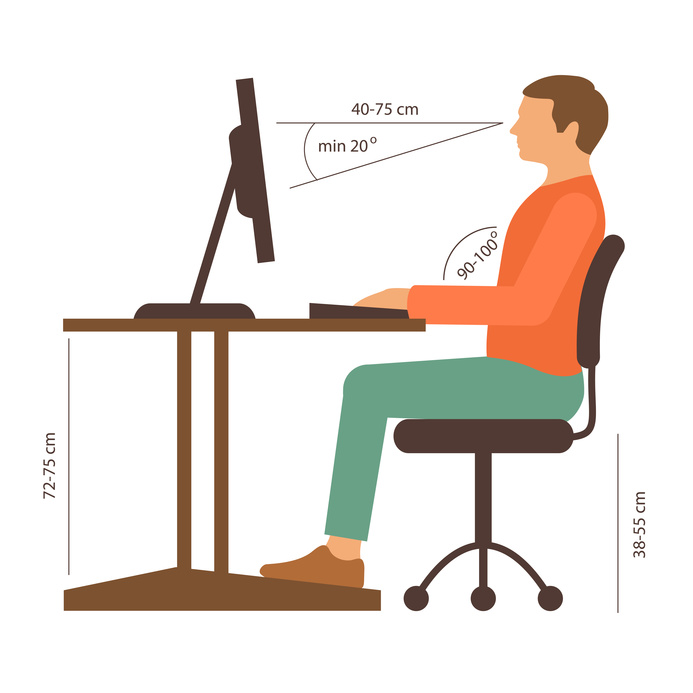 zdrowie przy komputerze